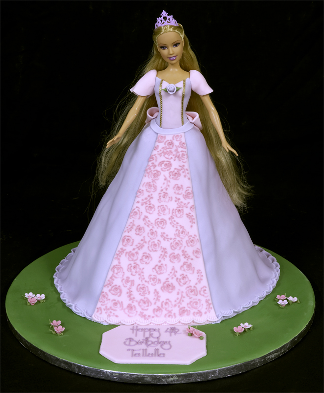 Barbie Doll Birthday Cake Pictures 4k Wiki Wallpapers 2018